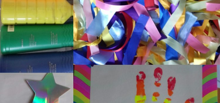 Make Time Rainbow party