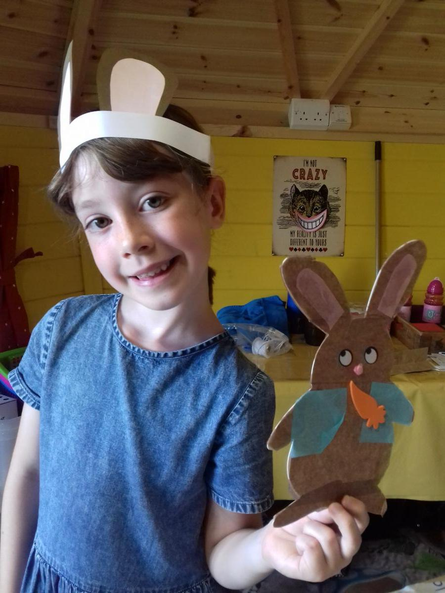 Make Time Peter Rabbit party